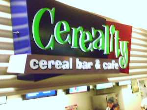 Cereal Bar in DFW